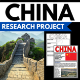 China - Facts and Information about China - Guided Research Poster Project