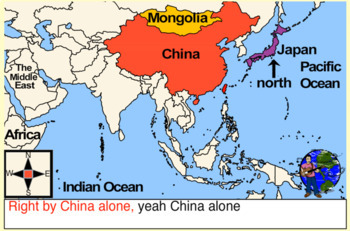 China Alone (East Asian Geography) Mongolia Version: Rocking the World