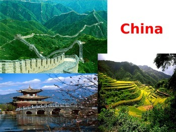 China Chinese lesson PowerPoint Geography
