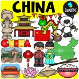 China Clip Art Bundle {Educlips Clipart}