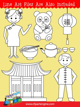 China Clip Art Collection