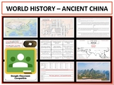 Ancient China - Complete Unit - Google Classroom Compatible