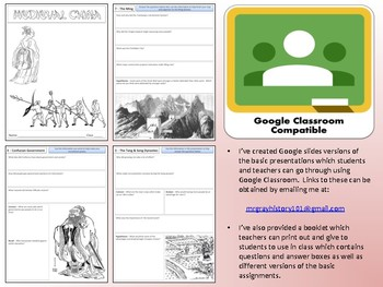 China - Complete Unit - Google Classroom Compatible