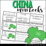 China Country Mini Books Countries Around the World