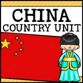 China Country Social Studies Complete Unit