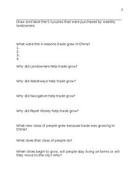 China Econ Worksheet