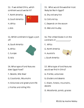 China, Egypt and Tribal Regions: Assessment and Study Guide