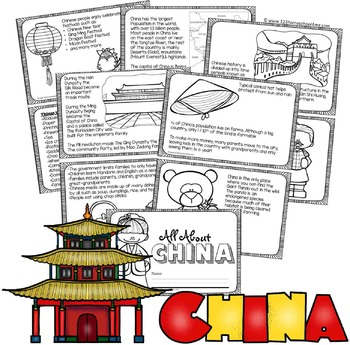 China Facts Book for Kids