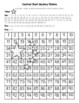 China Flag (Chinese) Hundred Chart Mystery Picture with Number Cards