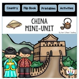China Country Study: A Mini-Unit & Flip Book