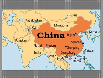 China Geography Powerpoint