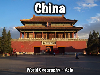China Geography and History