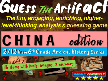 "China ""Guess the artifact"" game: engaging PPT with picture"