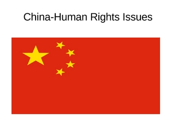 China Human Rights Issues