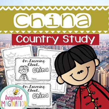 China Country Study | 48 Pages for Differentiated Learning + Bonus Pages