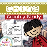 China Booklet Country Study Project Unit