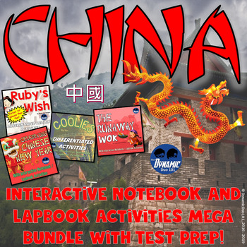 China Interactive Notebook Activities with Angel Island Te