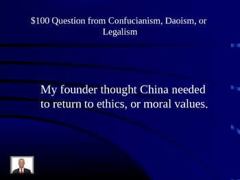 China Jeopardy Game