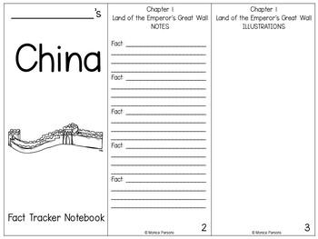 Magic Tree House #31 - China - {Nonfiction Fact Tracker}