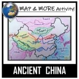 China Map Activity- Ancient China (Label and Color!)