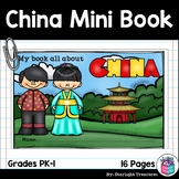 China Mini Book for Early Readers - A Country Study