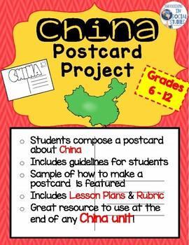 China Postcard Project