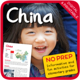 China (Fun stuff for elementary grades)