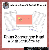 China Scavenger Hunt Task Card Activity! Great End of Year