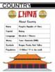 China Themed Activity Set