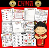 China Themed Activity Set