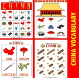 China Themed Bingo / Matching Board Game Set