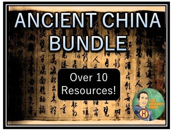 China Unit Bundle Over 10 Resources!