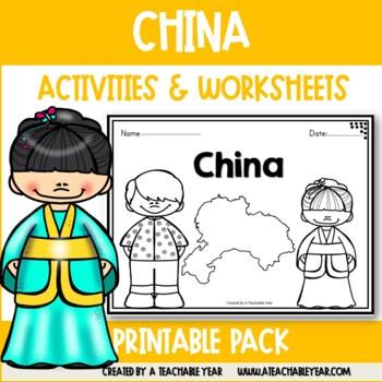China- Vocabulary Pack