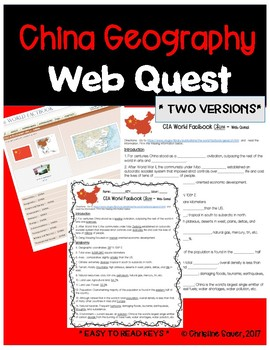 China Web Quest