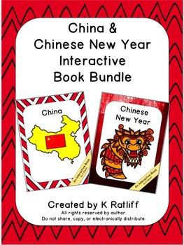 China and Chinese New Year:  Interactive Book Bundle