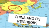 China and its Neighbors PowerPoint