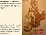 China and the Korean War PowerPoint Presentation