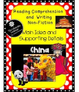 China  and Chinese New Year for 2nd and 3rd graders  Reading  Non-Fiction