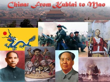 China from Kublai to Mao Reading & Questions