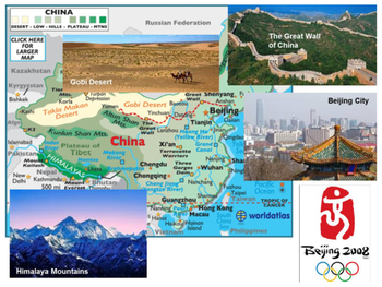 China's 5 Themes of Geography