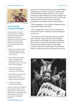 China's Cultural Revolution