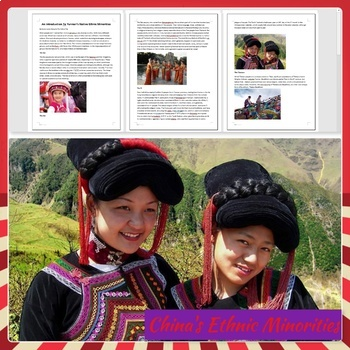 China's Ethnic Minorities Reading Comprehension, Reading and Discussion Activity