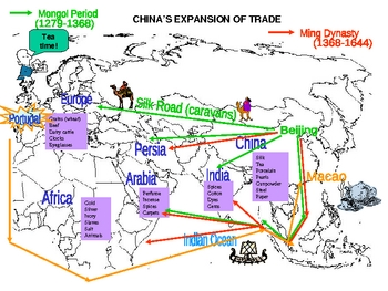 China's Expansion of Trade - PowerPoint