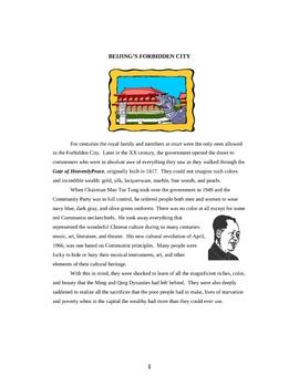 China's Forbidden City and the Hutong
