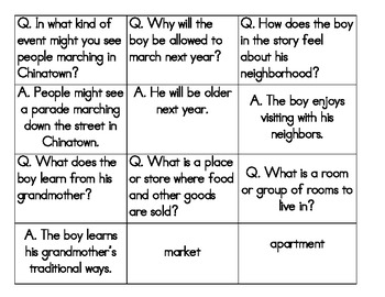 Chinatown - Quiz Quiz Trade Cards