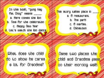 Chinatown Quiz Quiz Trade Cards Harcourt Trophies 2nd