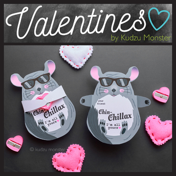Chinchilla Valentine Candy Hugger