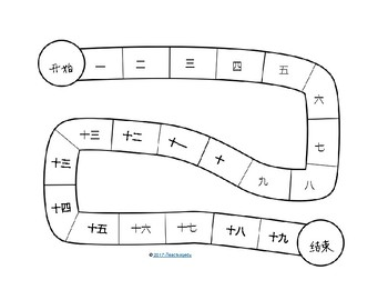 Chines Snake Game Board