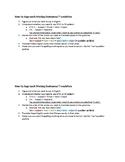 Chinese 1: Steps to Approaching Sentence Translation