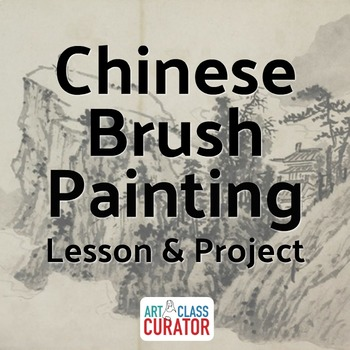 Chinese Brush Painting Lesson with Art Project